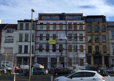 Pakhuis Antwerpen ombouwen tot appartementen